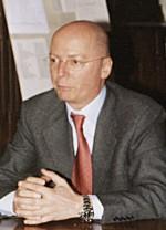 Il segretario di An trentina Marco Zenatti. - 15gg