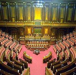 Il mio debutto al senato for Oggi al parlamento italiano