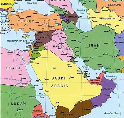 Cartina Geopolitica Medio Oriente.Scenari Del Prossimo Futuro In Medio Oriente